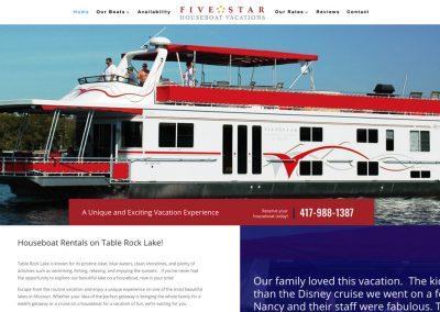 Five Star Houseboat Vacations