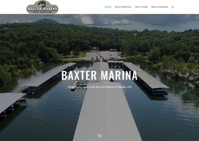 baxter marina on table rock lake